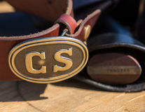 Confederate States Buckle Stock Photos