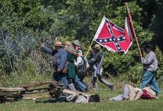 Confederates in Combat Stock Images