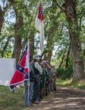 Confederates Prepare Royalty Free Stock Image