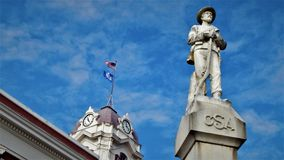 Confederates of White County Arkansas royalty free stock images