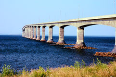 Confederation bridge. The conferderation bridge Royalty Free Stock Photos