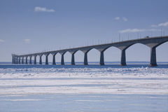 Confederation Bridge Royalty Free Stock Photography