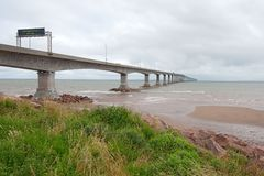 Confederation Bridge Stock Images