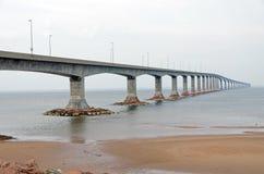 The Confederation Bridge Royalty Free Stock Photo