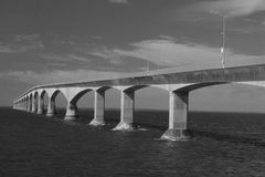 Confederation Bridge in Canada Stock Photography