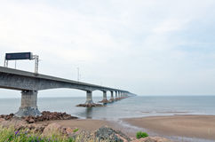 The Confederation Bridge Stock Photo