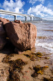Confederation Bridge, Prince Edward Island, Canada Royalty Free Stock Photos