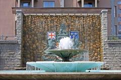 Confederation fountain, Victoria Stock Photos