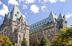 Confederation Towers Royalty Free Stock Photography