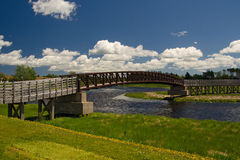 Confederation Trail, St. Peters PEI Stock Image