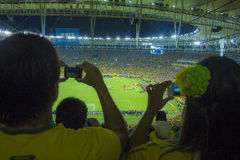 Confederations Cup 2013 - Brazil x Spain - Maracanã Royalty Free Stock Images