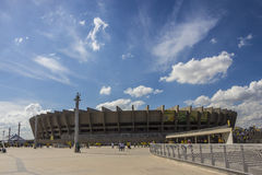 Confederations Cup 2013 - Brazil x Uruguay - Minerao Stadium Royalty Free Stock Photography