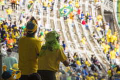 Confederations Cup 2013 - Brazil x Uruguay - Minerao Stadium Stock Photography