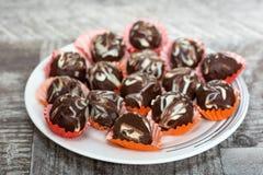 Confeito delicioso do chocolate imagens de stock