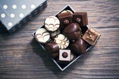 Confeitos do chocolate Foto de Stock