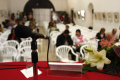 Conferência Fotografia de Stock Royalty Free
