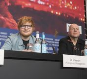Conferência de imprensa do ` do compositor do ` em 68th Berlinale 2018 imagem de stock