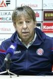 Conferência de imprensa Zoran Vulic foto de stock