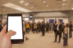Conferência do borrão imagens de stock