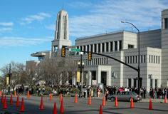 Conferência geral em Salt Lake City Fotografia de Stock Royalty Free
