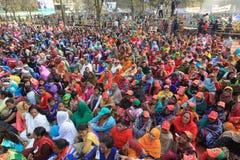 Conferência nacional da liga de Bangladesh Awami imagens de stock royalty free
