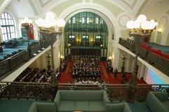 Conferência no Câmara da Indústria e do Comércio Fotos de Stock