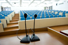 Before a conference Stock Image