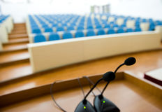 Before a conference Royalty Free Stock Image