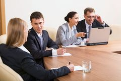 Conference Royalty Free Stock Photography