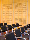 Conference 4. Portrait photo of conference room interior from isle royalty free stock images