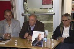Conference  alberto lo monaco marco bellocchio book Royalty Free Stock Photo