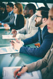 Conference for business people royalty free stock photo
