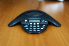 Conference business phone royalty free stock photo