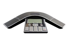 Conference call equipment Royalty Free Stock Image