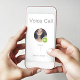 Conference Call Network Communication Concept royalty free stock images