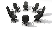 Conference chairs Royalty Free Stock Photography