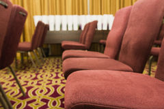 Conference chairs in a meeting room Royalty Free Stock Photo