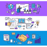 Conference Consulting Business Concept vector illustration