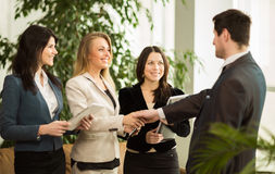 The conference of entrepreneurs. Stock Photography