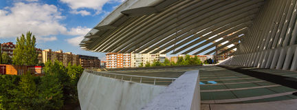 Conference and exhibition center Ciudad de Oviedo in Asturias Royalty Free Stock Photography