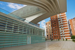 Conference and exhibition center Ciudad de Oviedo in Asturias Stock Photos