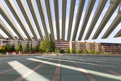 Conference and exhibition center Ciudad de Oviedo in Asturias Royalty Free Stock Images