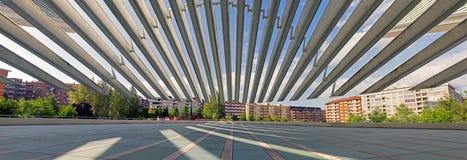 Conference and exhibition center Ciudad de Oviedo in Asturias Stock Photo