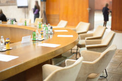 Conference furniture Stock Photography