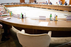 Conference furniture Stock Image