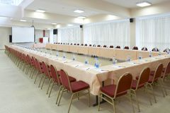 Conference hall #2 stock images
