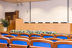Conference hall Stock Image