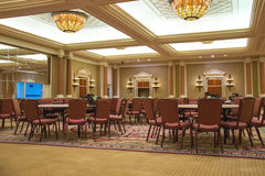 Conference hall in Caesar's Palace in Las Vegas Stock Images