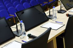 Conference Hall Detail Royalty Free Stock Photography