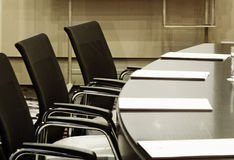 Conference hall. View of empty conference hall royalty free stock photo